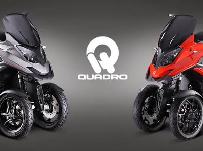 QUADRO 3+4 Rad Roller