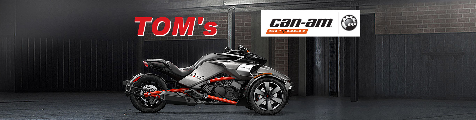 Tom's can-am Spyder