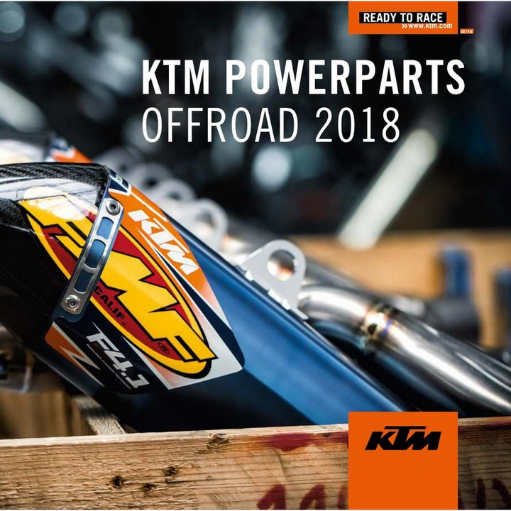 KTM POWER PARTS OFFROAD