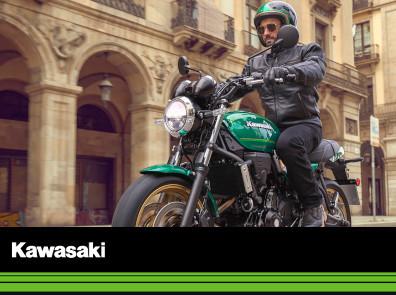 KAWASAKI Motorrad Stöbe
