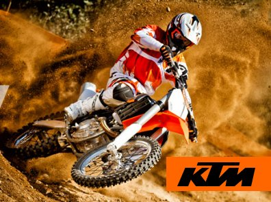 KTM Motorrad Stöbe